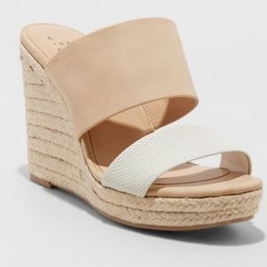 A New Day Adelina Espadrille Wedge Sandal Target 7